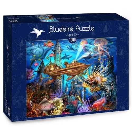 Bluebird 1000 Piece Jigsaw Puzzle - Aqua City