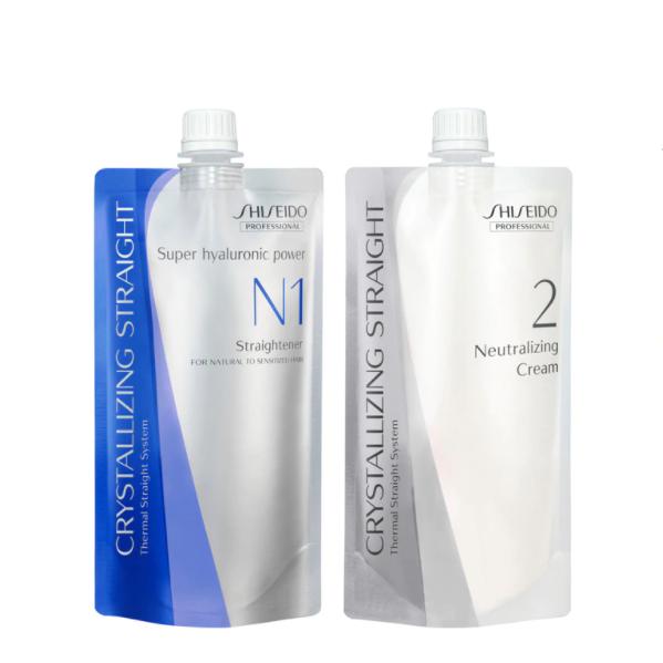 Shiseido Crystallizing Straightener N1 & Neutralizer Cream N