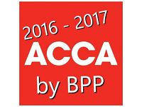 ACCA (Any Paper) study materials for 2017 exams!