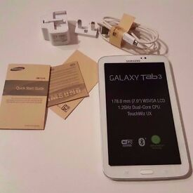 """Samsung Galaxy Tab 3 (7.0"""" inches) In Perfect Working Condition"""