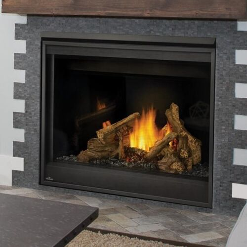 """Napoleon Ascent 42"""" Built-In Direct Vent Propane Gas Fireplace W/ Electronic"""