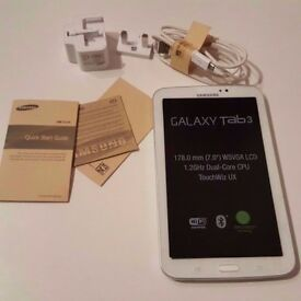 Samsung Galaxy Tab 3 (7 inches) In Perfect Working Condition