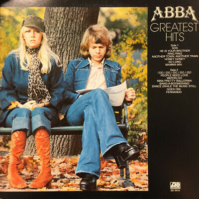 ABBA Greatest Hits (Vinyl, 1977)