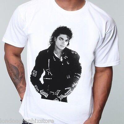 King of Pop, MICHAEL JACKSON T-shirt, MJ LEGEND, MUSIC, THRILLER, VINTAGE, Bad