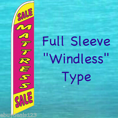 Mattress Sale Windless Feather Flag Swooper Flutter Bow Banner Advertising Sign