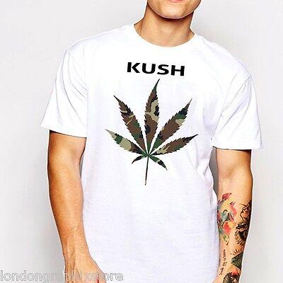 Marijuana T Shirt  Weed   Cannabis  420  Blunt  Bong  Drugs Men Swag Cotton Tee