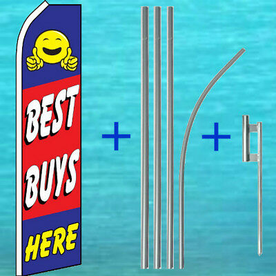 Best Buys Here Flutter Flag Pole Mount Kit Used Cars Feather Swooper Banner