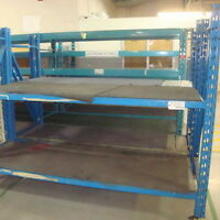 industrial pallet racks (shelving)