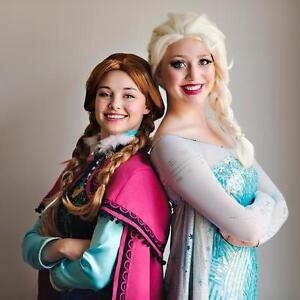 Invite Elsa and Anna to your child's birthday party! Kitchener / Waterloo Kitchener Area image 1