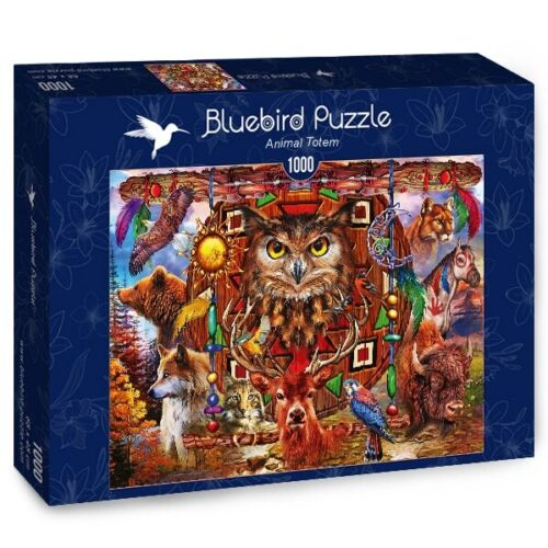 Bluebird 1000 Piece Jigsaw Puzzle - Animal Totem