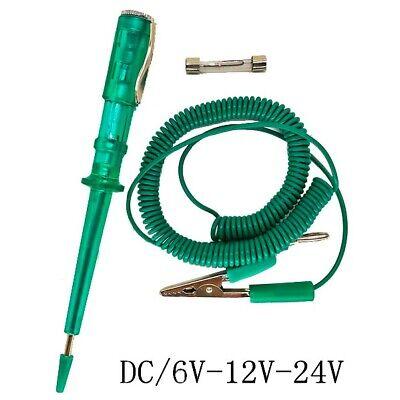 Car Auto Electric Voltage Tester Light Test Pen Sensor Repair Tool 6v-24v