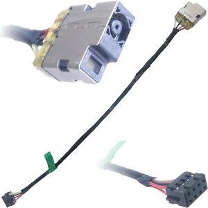 hp envy 15 j151ea dc power jack port socket with cable. Black Bedroom Furniture Sets. Home Design Ideas