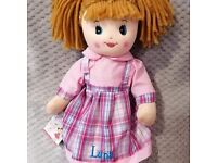 Rag Dolls Personalised Embroidered with Name