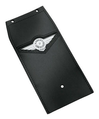 HARLEY NEW SOFTAIL FATBOY LEATHER FUEL TANK PANEL TRIM  MADE IN USA Leather Tank Panel