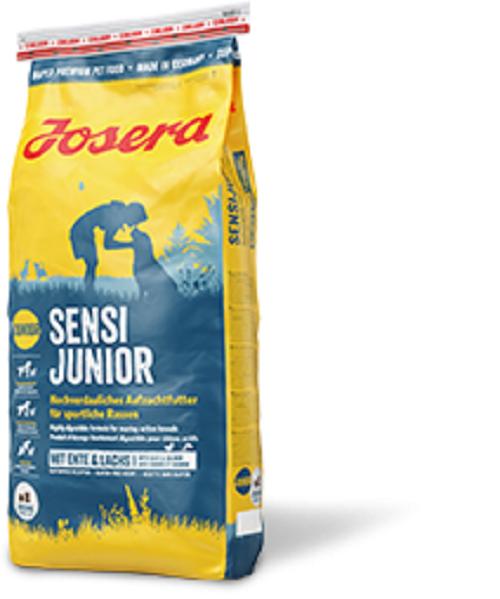 Josera Sensi Junior 15 kg - Aufzuchtfutter für sportliche Rassen + GRATIS PROBEN