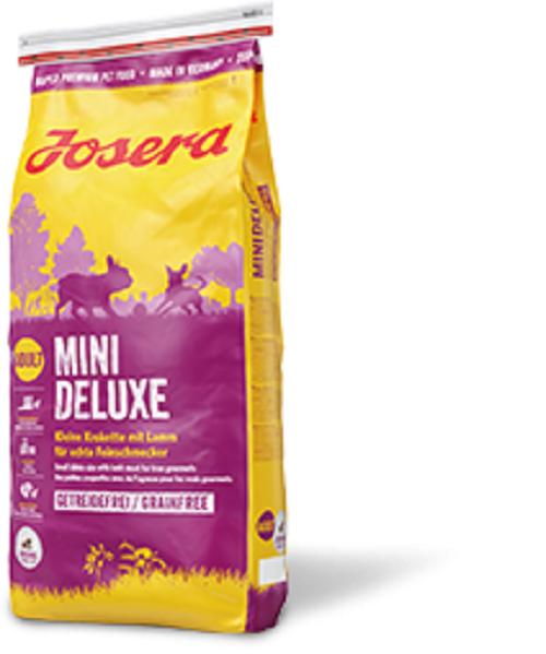 Josera Mini Deluxe - 15kg Hundefutter für kleine Feinschmecker + GRATIS PROBEN