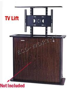 New auto tv lift 32 inch 800mm stroke ac 100 240v w for Motorized vertical tv lift