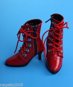Luts-sgs-04-Slender-red-Boots-Shoes-For-bjd-SD-Doll