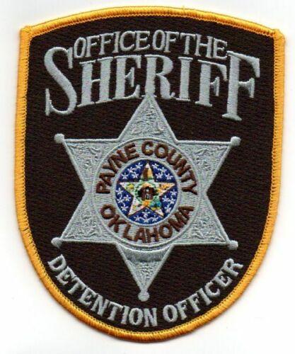 PAYNE COUNTY SHERIFF OKLAHOMA OK DETENTION OFFICER NEW PATCH POLICE