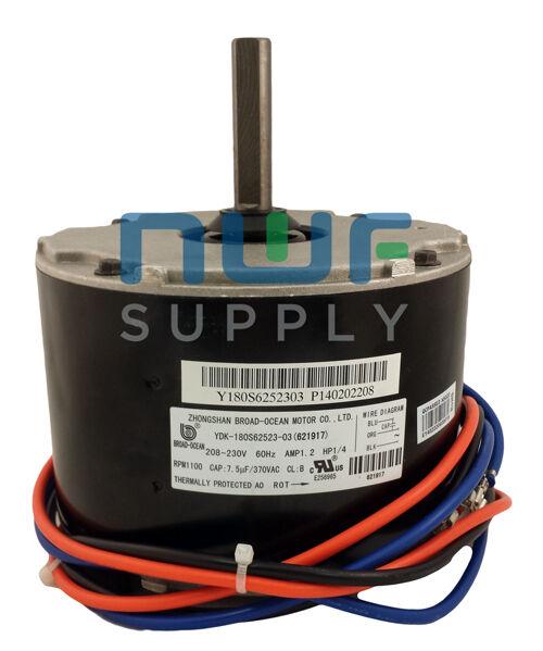 Genteq GE Miller Intertherm Condenser Fan Motor 5KCP39EGV491S 1/4 HP 208-230v