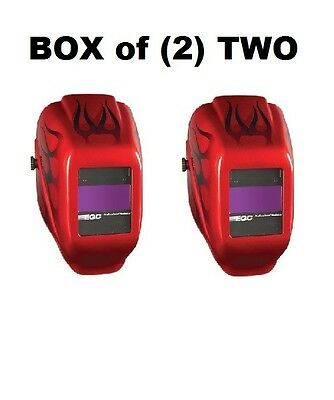 Box Of 2 Two Jackson Safety W10 Hlx 100 Passive Welding Safety Helmets New