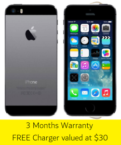 iPhone 5S - 16GB Space Grey - Great Condition Warrawong Wollongong Area Preview