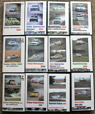12 x Video Rallye National 1999-2004 - Rallye200 - Gruppe H, Kadett C, Golf GTI