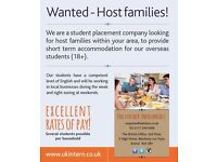WANTED! - host families