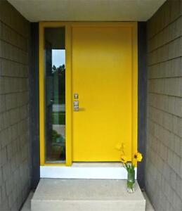 STEEL ENTRY DOORS, STEEL EXTERIOR DOORS, FRONT STEEL ENTRANCE DOORS REPLACEMENT & INSTALLATION - FREE ESTIMATES