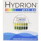 SALE Hydrion Body pH TEST Tape Strips Paper Urine Saliva Dispenser 5.5-8.0 # 067