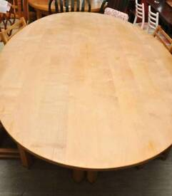 SALE NOW ON!! Oval Dining Table - Can Deliver For FREE Locally On Orders Over £100