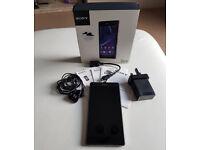 Sony Xperia Z2 16GB With Original Box Locked To EE Black