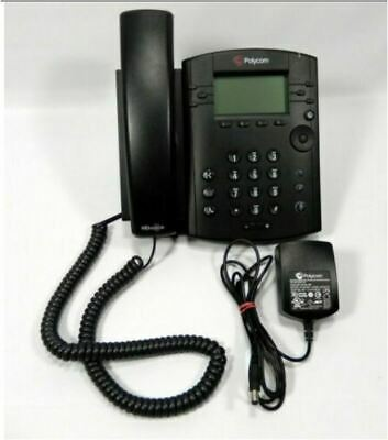 Polycom Vvx300 Vvx 300 6-line Business Media Voip Phone - With Power Adapter