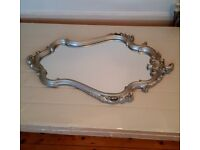 Rococo style large wall mirror as new