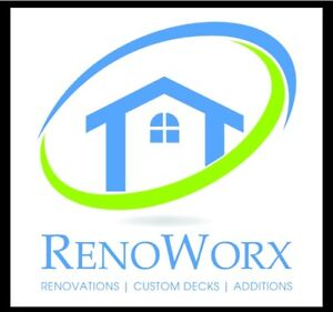 Renoworx...your reno, your way!  Financing Available