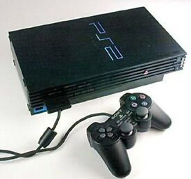 PS2 + 2 CONTROLLERS