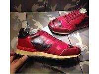 Valentino Garavani Rockrunner Triple Camo Designer Men's Sneakers