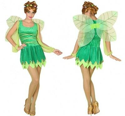 Costume Woman Tinker Bell Green XL 44 Drawing Cartoon NEW Cheap