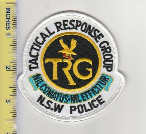 Australian Police Patch New South Wales Police Tactical Response Group
