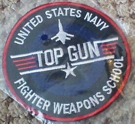 top gun fabric patch