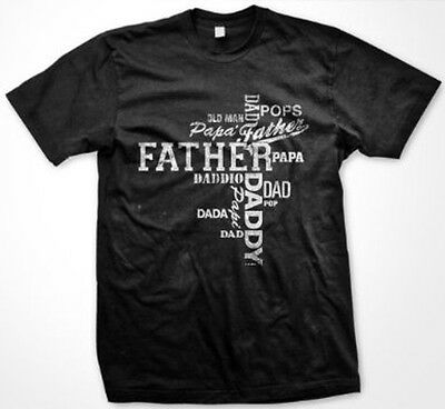 Fathers Day Dad Poppa Papa Pappi Daddy Father Funny Slogans   Mens T Shirt