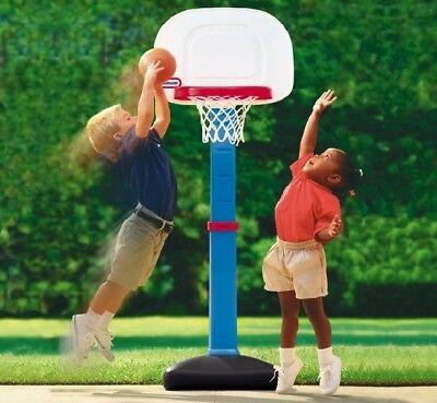 Kids Basketball Hoop Goal Mini Indoor Outdoor For Toddler Adjustable Portable ](Toddler Basketball Hoop)