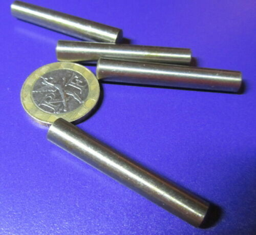Metric Steel Taper Pins 6.8 mm Large End x 6 mm Small End x 40 mm Long, 10 Pcs