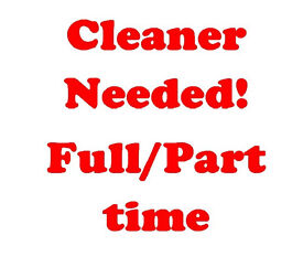 CLEANER needed for resedential properties!Light work & reasonable rate! East London,Aldgate East,E1