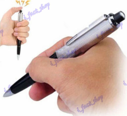 Funny Prank Trick Joke Toy Electric Shock Pen Novelty Shocking Toy Gift Gadget