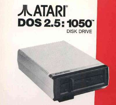 DOS 2.5  New Disk and Manual 1050/800/XL/XE Atari New