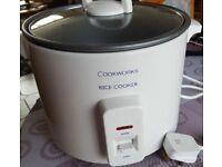 COOKWORKS 1.8 LITRE RICE COOKER