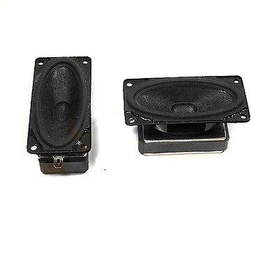 "NEW 1//2/"" x 1-1//4/"" Dual Micro Speaker.Toy Replacement.8ohm.1watt.FullRange woofer"