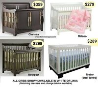 Baby Furniture & Convertible Cribs - FACTORY DIRECT IN VAUGHAN