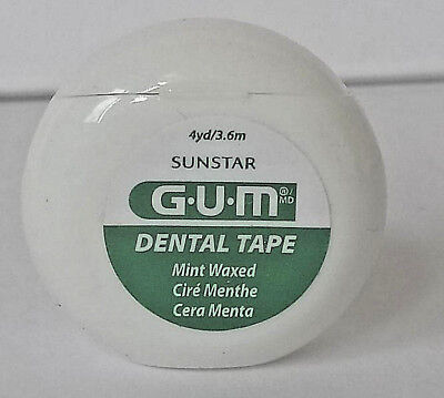 18 Packs  Butler GUM Fine Waxed Dental Floss BEST PRICE